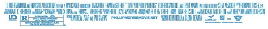 I Love You Phillip Morris Movie Cast Credits, Jim Carrey, Ewan McGregor